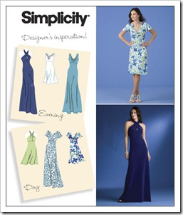 Simplicity Dress patterns for eventing and day - 2580