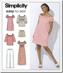 Easy Summer dress - 2616 - only Summer is missing