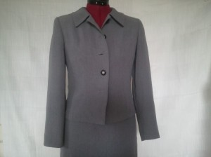 Vogue pattern Jacket V8161 gray