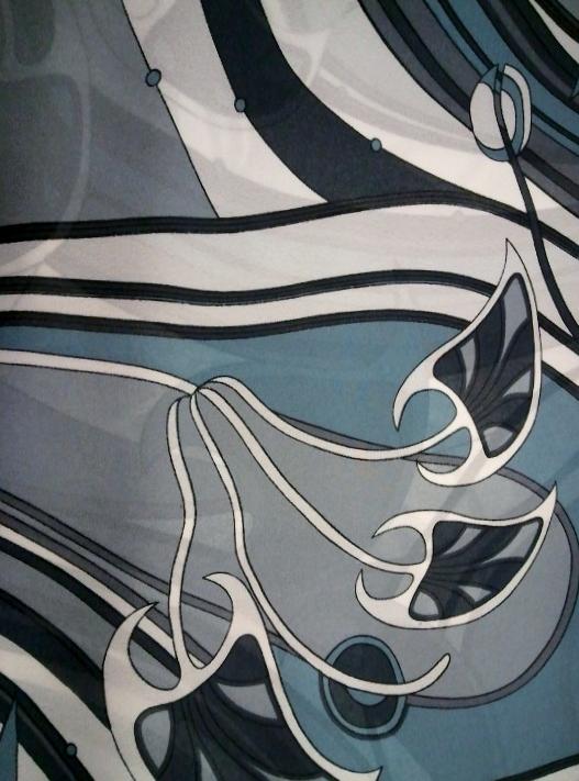 Fabric Art Nnouveau Vintage