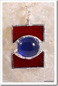 Stained Glass Jewellery Pendant