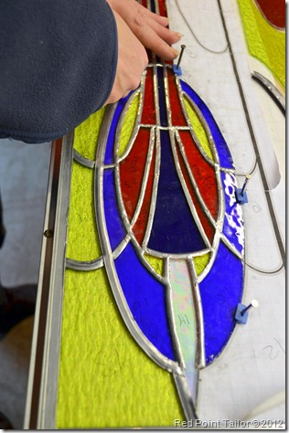 Stained glass workshop–Glass-in-lood workshop