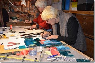 Stained glass workshop weekend