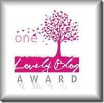 One Lovely Blog Award / The Very Inspiring Blogger nominations