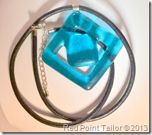 Glass fusion necklace - HotPot Jewellery