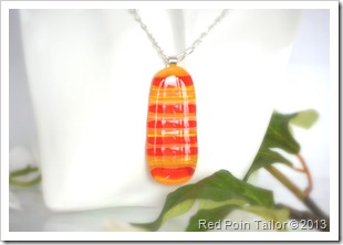My jewellery projects - fused glass