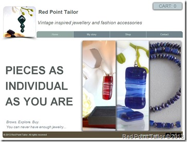 Vintage inspired fused glass jewelry and accessories