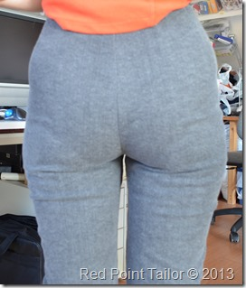 pants fitting issues
