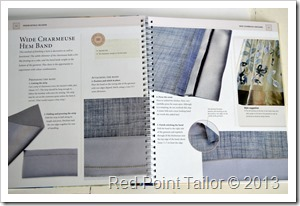 the Dressmaker's Handbook of Couture Sewing Techniques book by Lynda Maynard