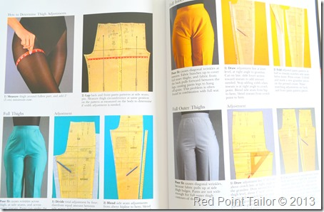 Topic of 2013–pants fitting issues, there is still hope for my trousers, must have in sewing library
