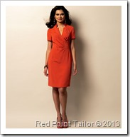 B5849 simple dress pattern