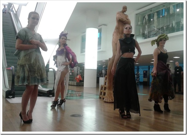 Impressions from the Fashion show Horst Couture 'Gathering' sneak preview