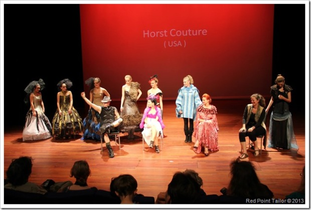 Impressions from the Fashion show Horst Couture 'Gathering' designers couture