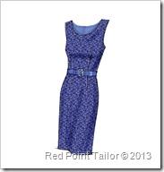 V8766 simple dress
