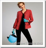 V8804 - jacket pattern - Chanel-like