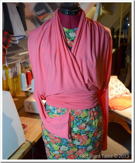 Pink wearable muslin - Advance 8190