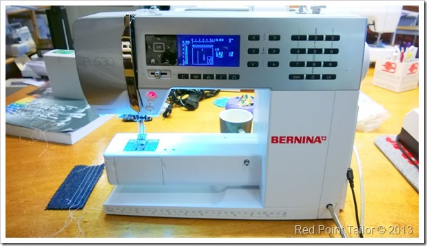 Bernina 530 - future sewing machine in RPT Couture atelier