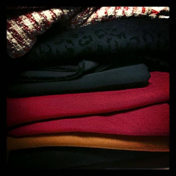 Stoffenspektakel - Fabric market - new fabric stash - winter tops