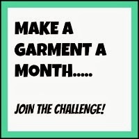 Sarah Liz has announced new challenge - Make A Garment A Month Challenge