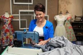 "LAURA NASH from Its Sew Chic will have new class on Craftsy ""Sewing Vintage: The Flirty Day Dress""."