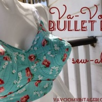 Join Saturday the Va-Voom Bullet Bra Sew-Along