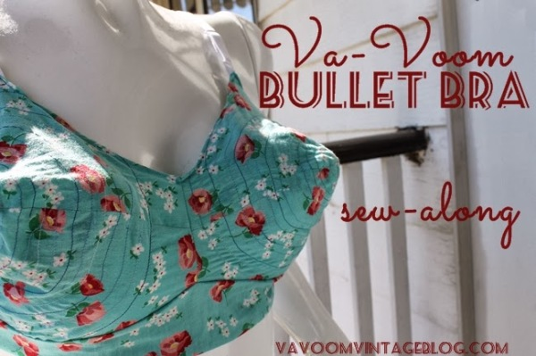 the Va-Voom Bullet Bra Sew-Along