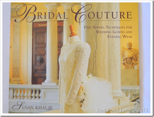 the book on CD – Bridal Couture by Susan Khalje.