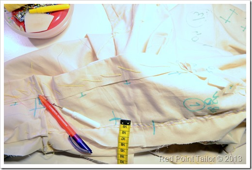 The French Jacket sew-along officially started on 7th October