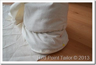 Making a hat  - making muslin - copying existing model