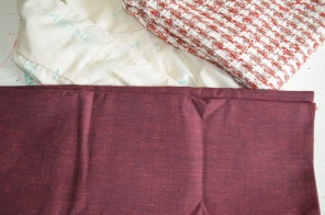 French Jacket muslin and fabric and fabric for Dress
