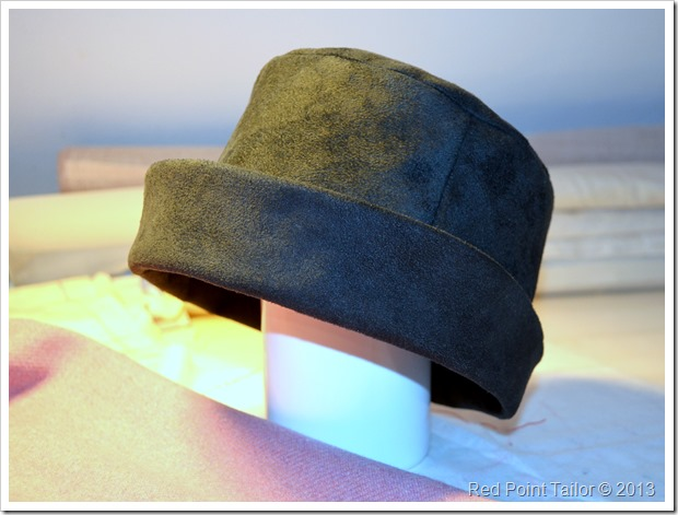 Fashionabla hat faux leather