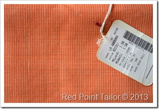 New in Red Point Tailor fabric stash silk wool linen bland