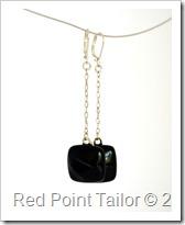 Glass earrings - unique, modest, elegant