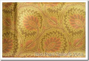 New in Red Point Tailor fabric stash silk yellow satin