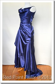 Evening dress - Red Point Tailor Couture - bespoke couture, make-to-order, make-to-measure