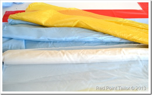 Silk habotai - perfect as lining for summer garments