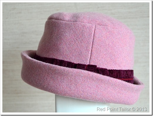 Hat for my mother - avaialbe as made-to-order at redpointtailor.com