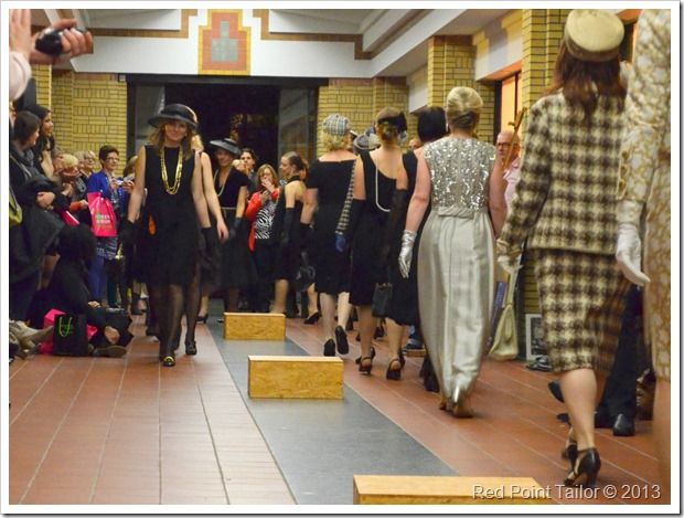 fashion show prepared by Couturage and presented by Joke van Dijk