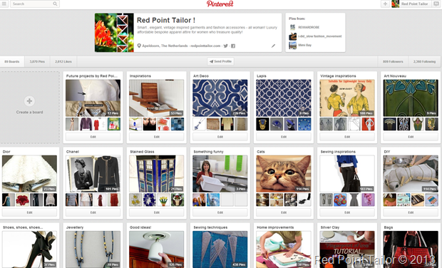 Red Point Tailor on Pinterest