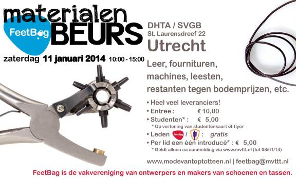 MATERIALENBEURS 2014 Utrecht NL BvK FeedBag