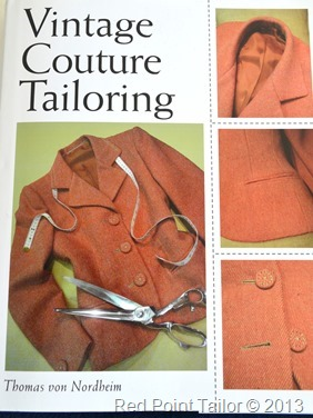 Vintage Couture Tailoring by Thomas von Nordheim.