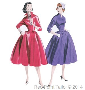 the Butterick pattern B5556