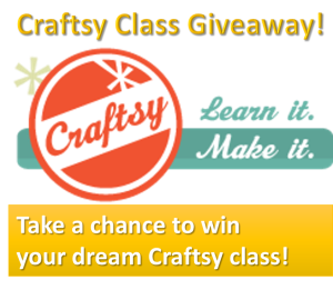 Craftsy Class Giveaway