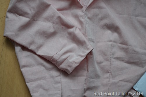 Making muslin of a couture dress by Red Point Tailor