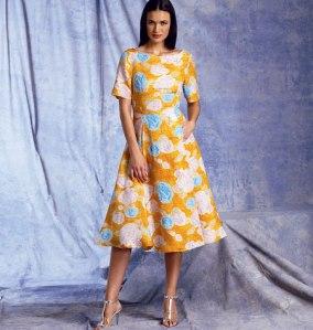 V1397_dress Vogue Patterns Summer 2014 collection