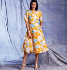 V1397_dress Vogue Patterns Summer 2014 collection