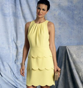 V1398_dress Vogue Patterns Summer 2014 collection