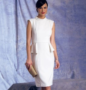 V1399_dress Vogue Patterns Summer 2014 collection