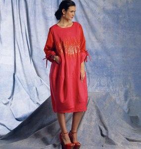 V1401_dress Vogue Patterns Summer 2014 collection