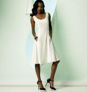 V8996_dress Vogue Patterns Summer 2014 collection